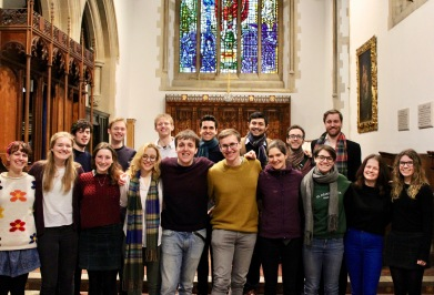 Oxford Recording, St Peter's Chapel, 2018